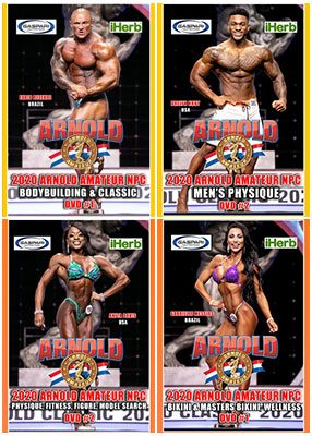 2020 Arnold Amateur NPC DVDs