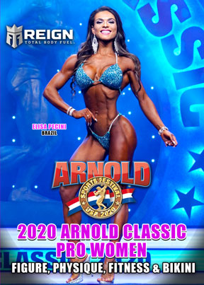 2020 Arnold Classic Pro Women DVD