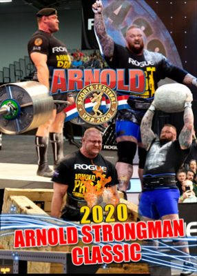 2020 Arnold Strongman Classic DVD