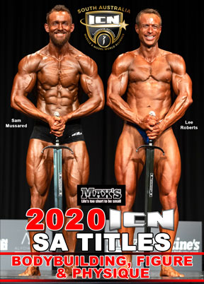 2020 ICN SA Bodybuilding Figure & Physique DVD
