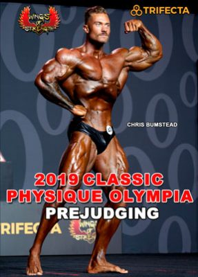 2019 Classic Physique Olympia DVD