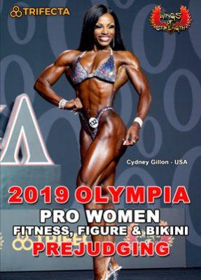 2019 Women's Olympia Pro Women Prejudging DVD