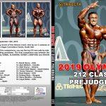 2019 Olympia 212 Class - Prejudging DVD