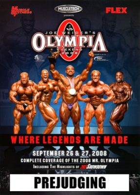 2008 Mr. Olympia Prejudging Download
