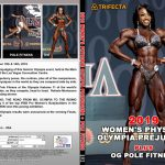 2019 Women's Physique Olympia Prejudging DVD