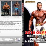 2019 Olympia Men's Physique Prejudging & Pro Wheelchair DVD