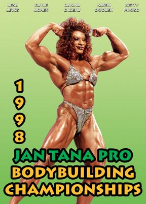 1998 Jan Tana Pro Bodybuilding Championships DVD