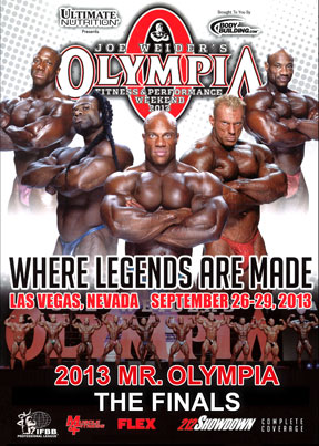 2013 Mr Olympia - Finals Download