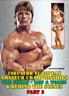 1981 IFBB European Championships Part 2