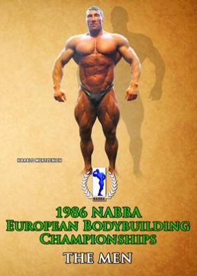 1986 NABBA European Bodybuilding Championships - Men