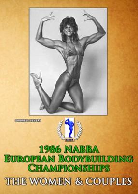1986 NABBA European Bodybuilding Championships - Women