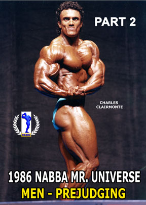 1986 NABBA Mr. Universe Men's Prejudging Part 2