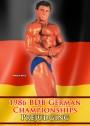 1986 BDB German Championships Prejudging