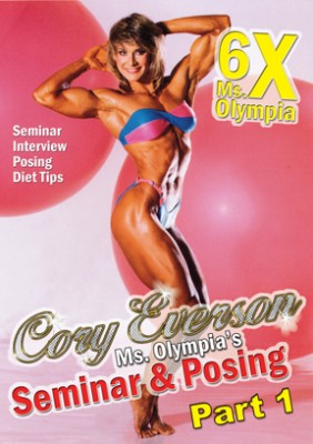 Cory Everson Seminar & Posing Part 1