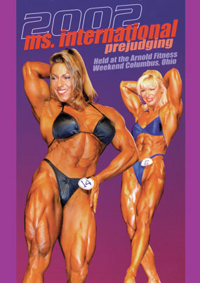 2002 Ms. International Prejudging