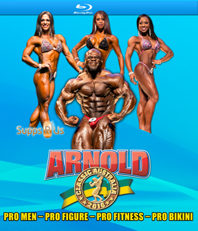 2016 Arnold Classic Australia on Blu-Ray