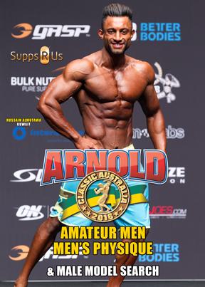 2016 Arnold Classic Australia Men's Physique & Male Model Search
