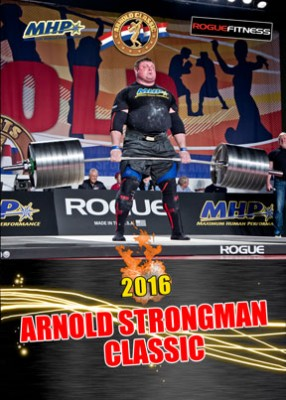2016 Arnold USA Strongman
